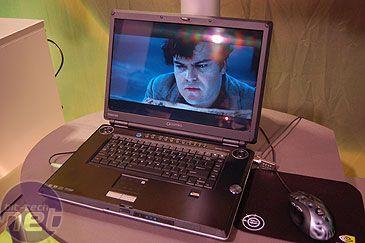 Toshiba Notebook mit GeForce 7800 Grafik beim Decodieren einer HD-DVD