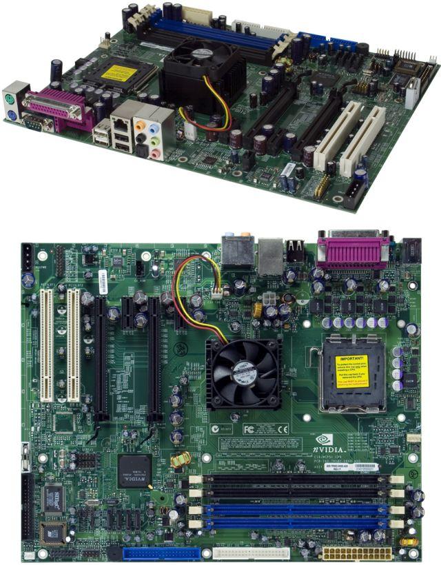 nForce4 SLI XE Referenzmainboard