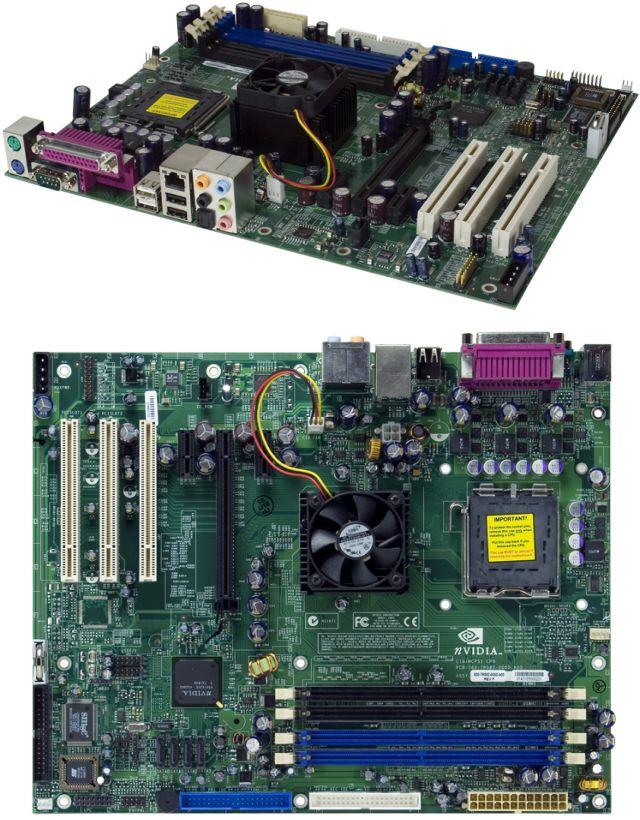 nForce4 Ultra Referenzmainboard