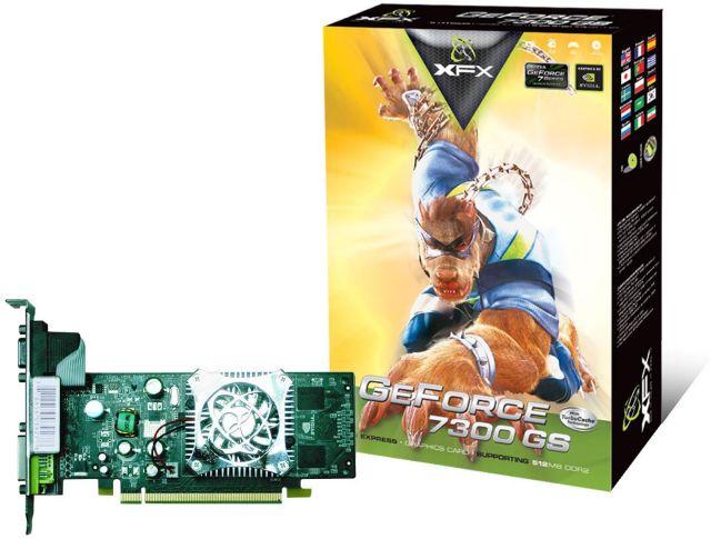 XFX GeForce 7300 GS