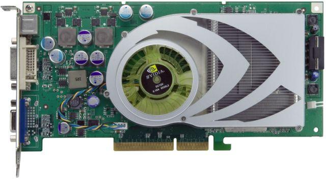 nVidia GeForce 7800 GS AGP