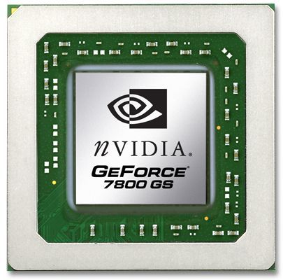 nVidia GeForce 7800 GS Grafikchip