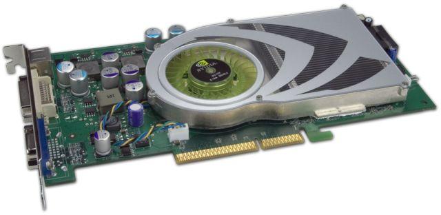 GeForce 7800 GS AGP Grafikkarte