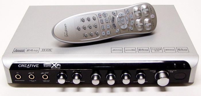 Sound Blaster X-Fi I/O Console and Remote Control