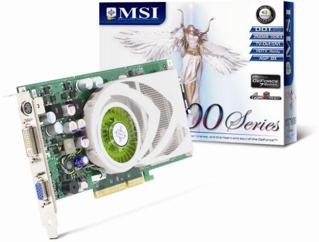 MSI NX7800GS-TD256