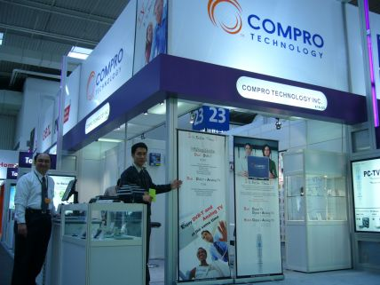 CeBIT 2006 Hannover Compro Technology Brings The Ultimate