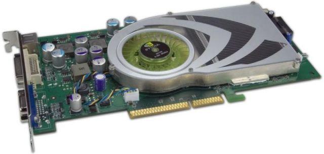 GeForce 7800 GS (hier mit DVI- und VGA-Port)