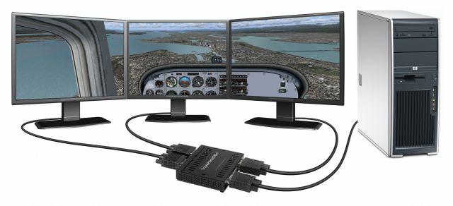 Surround-Gaming: Flight Simulator 2004
