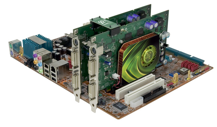GeForce 7600 GT SLI