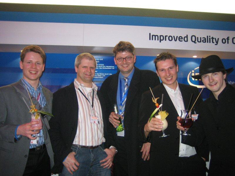 Timm, Jürgen, Frank, Oli, Gottfried