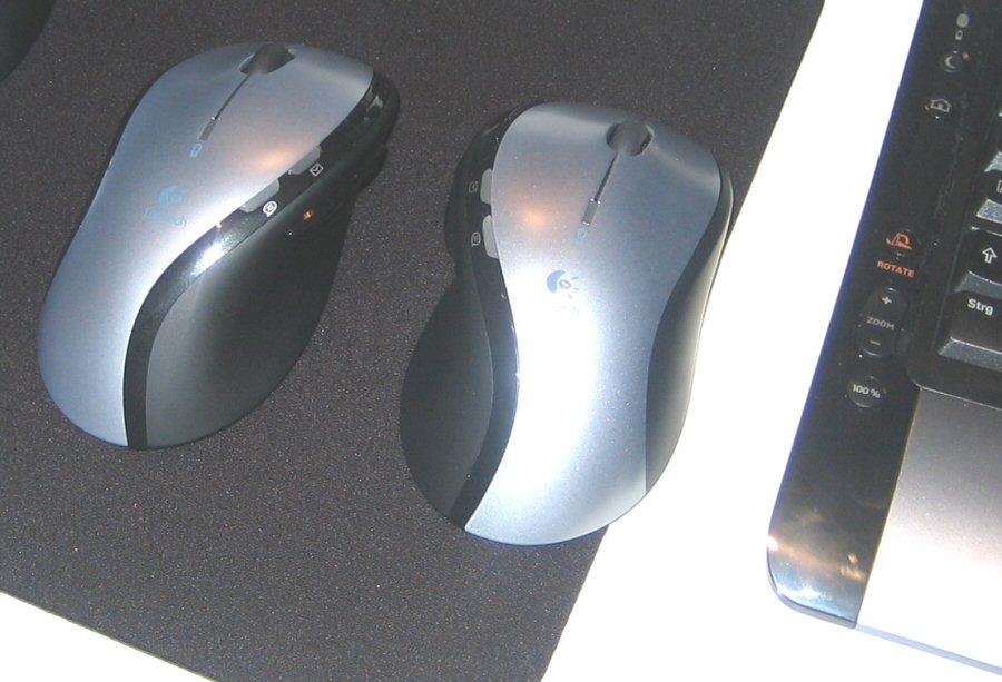 MX610: Für Links- und Rechtshänder