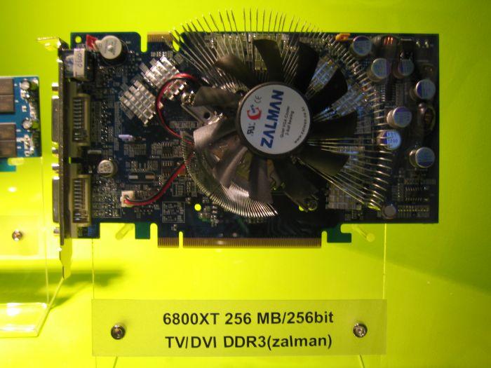 Galaxy 6800 XT mit Zalman Kühler und schnellem DDR3 Speicher
