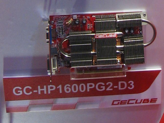 Passiv gekühlte GeCube X1600 Pro PCIe