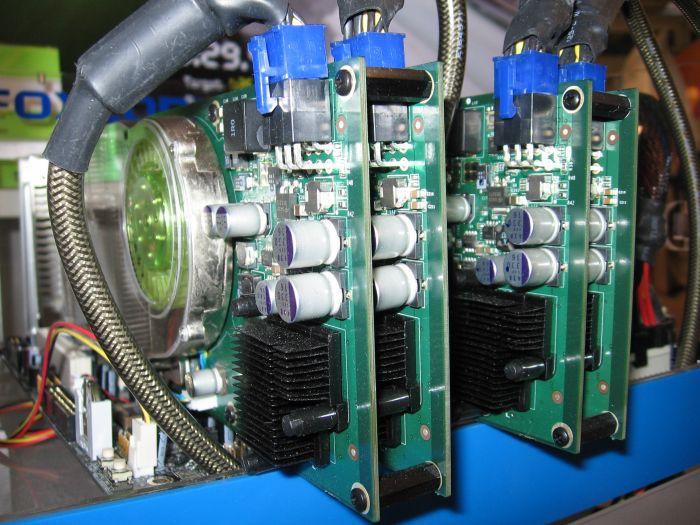 Quad-SLI System bei Foxconn