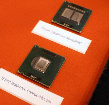 Intel Conroe und Kentsfield auf dem Intel Developer Forum Anfang März