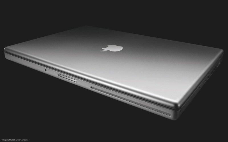 Apple MacBook Pro mit Intel Core Duo Prozessor