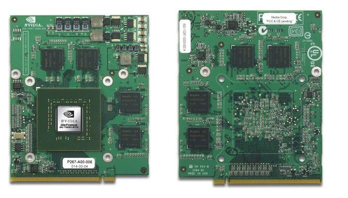 GeForce Go 7900 GTX MXM Vor- & Rückseite