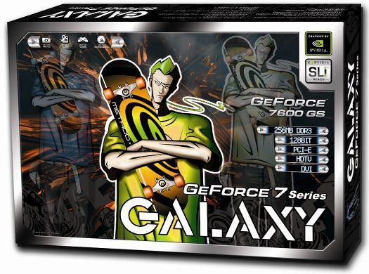 Galaxy GeForce 7600 GS Box