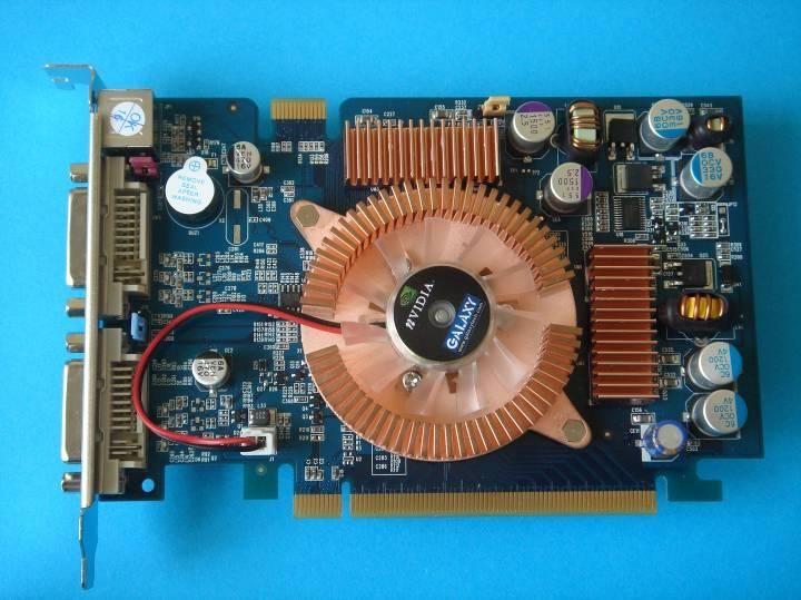 Galaxy GeForce 7600 GS