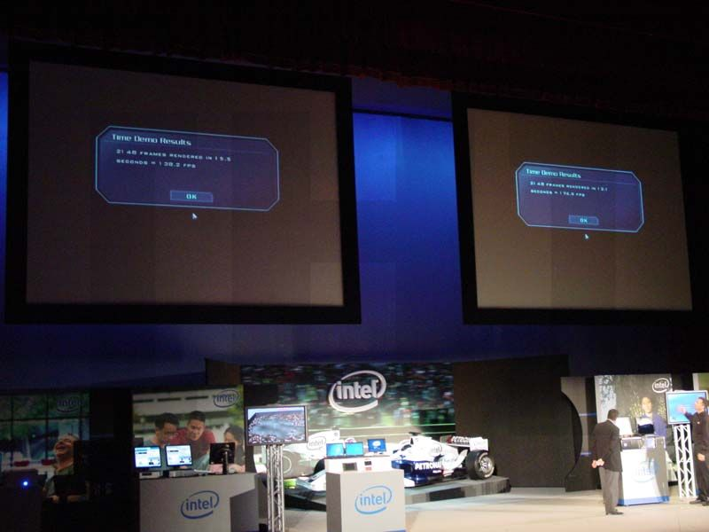 Intel Core2 Duo gegen AMD Athlon 64 FX bei 2.6 GHz