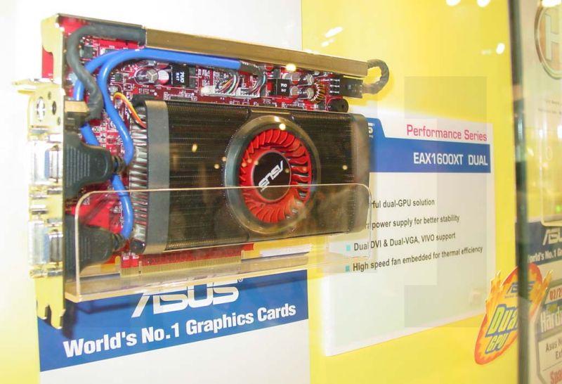 Dual-X1600 XT Grafikkarte von ASUS (Bildquelle: HardOCP)