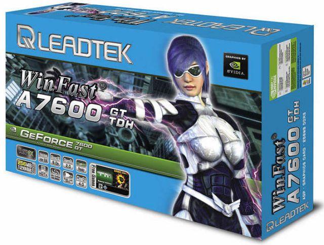 Leadtek WinFast A7600GT TDH Box
