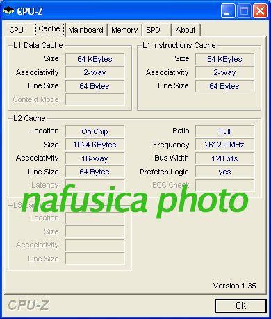 AMD Athlon 64 X2 5200+ Cache-Infos
