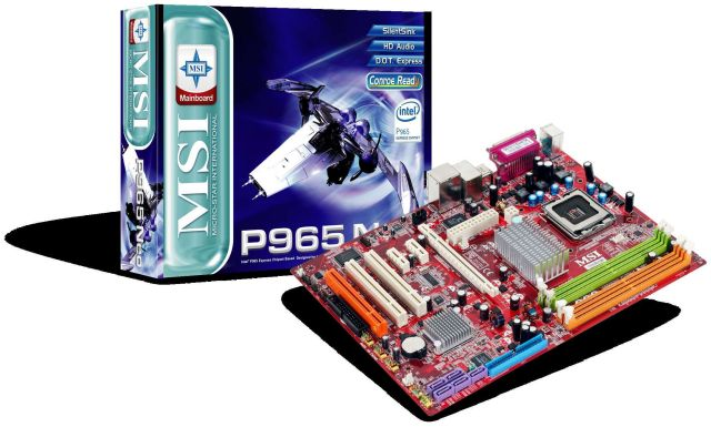 MSI P965 Neo-F