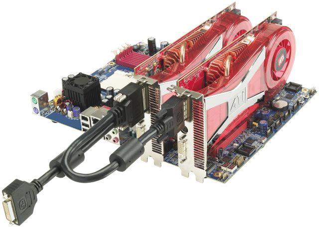 Radeon X1950 CrossFire Setup
