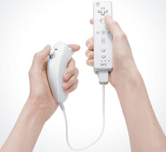 Nintendo Wii Fernbedienung und Nunchuck-Controller