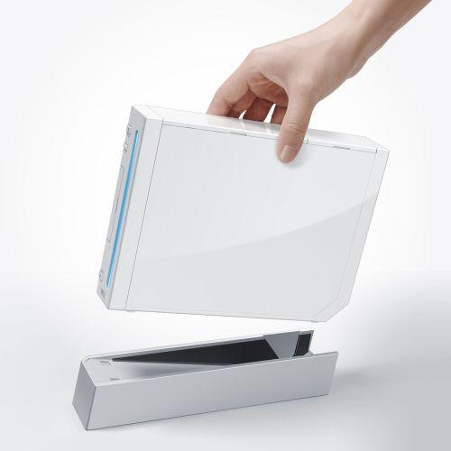 Nintendo Wii und Konsolenständer