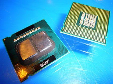 Intel Quad-Core CPU - auf dem IDF gezeigt