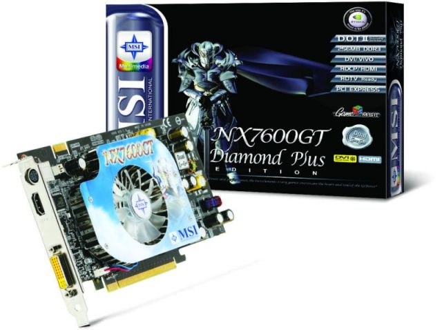 MSI NX7600GT Diamond Plus