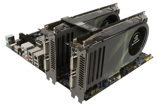 GeForce 8800 GTS SLI