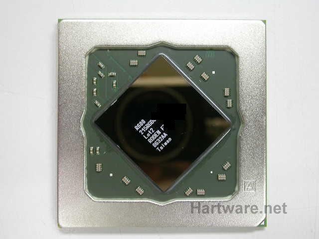 Angebliches Bild vom ATI R600 Grafikchip (aufgetaucht Ende November)