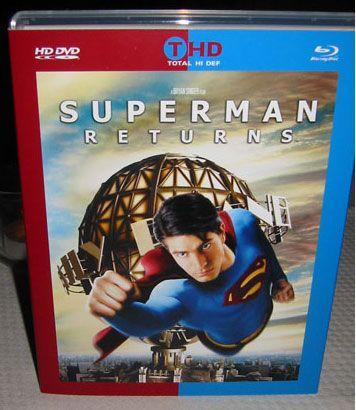 Superman Returns auf Total Hi Def