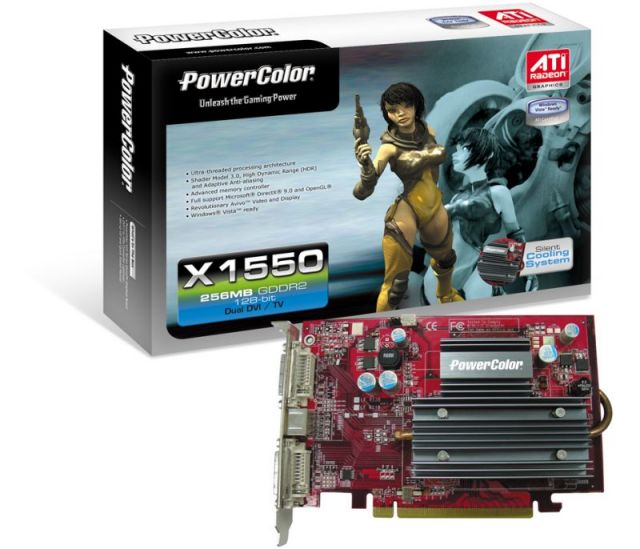 PowerColor X1550 mit Silent Cooling System (SCS)