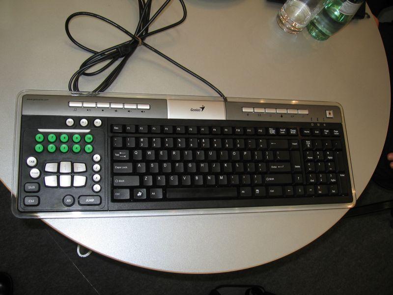 Neue Spielertastatur von Genius