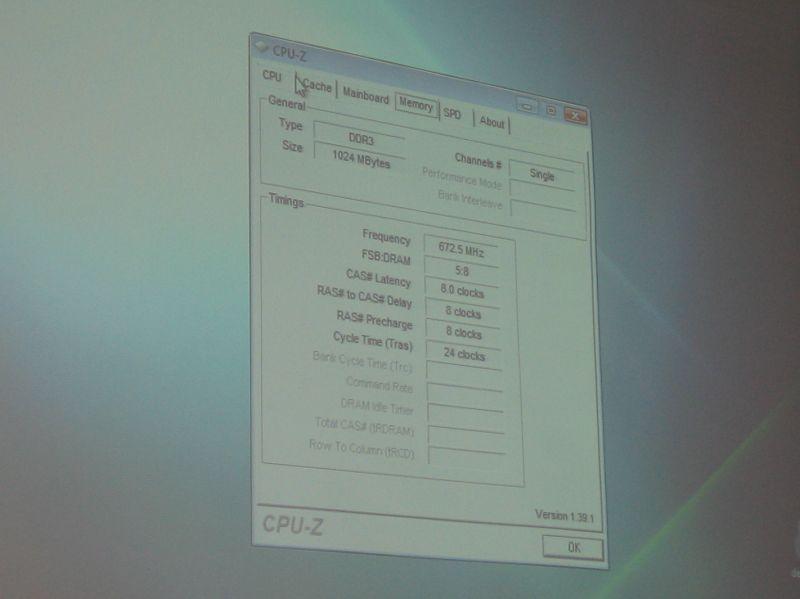 Auch DDR3 übertaktet