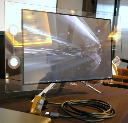 Prototyp eines DisplayPort-LCDs von Dell