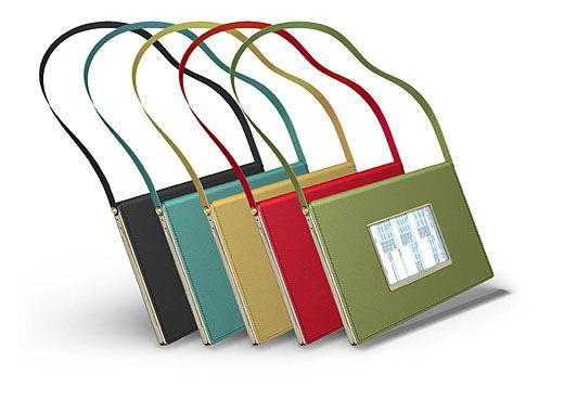 Mit Umhängeband wird das Notebook zur Tasche