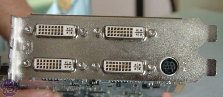 Sapphire Dual Radeon HD 2600 XT Anschlüsse