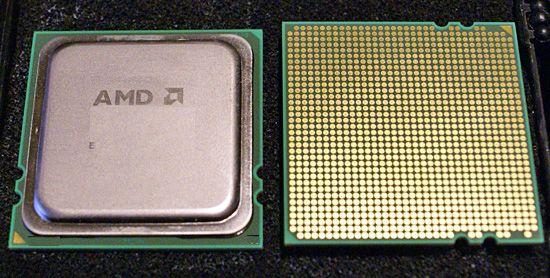 Prototyp von AMD 'Barcelona'