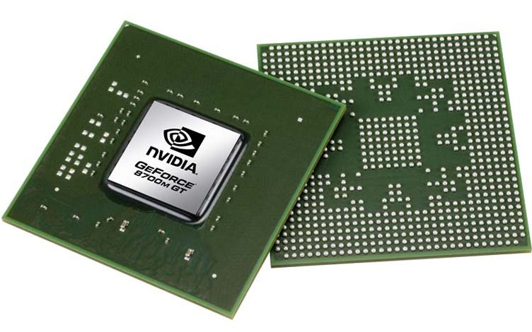GeForce 8700M GT Grafikchip