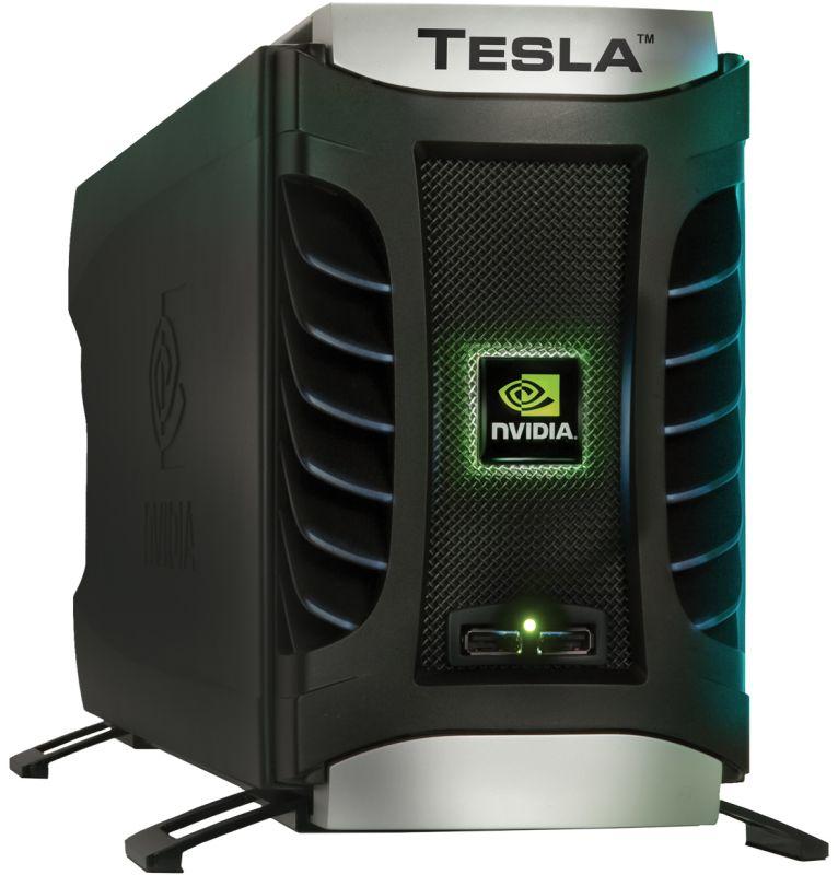 Tesla Deskside Supercomputer (D870)