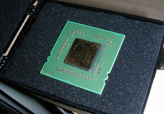 Muster vom AMD Quad-Core Opteron (Barcelona)