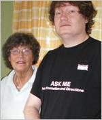 Peter Löthberg mit Mutter Sigbritt