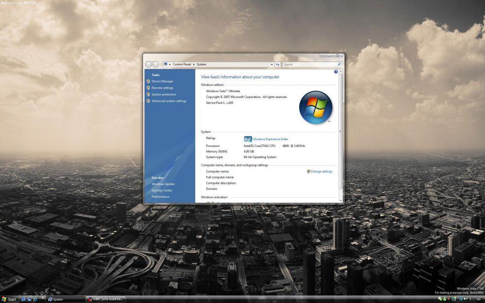 Beta-Version von Vista SP1
