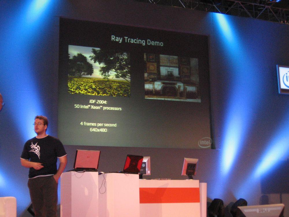 Raytracing-Demo auf Yorkfield