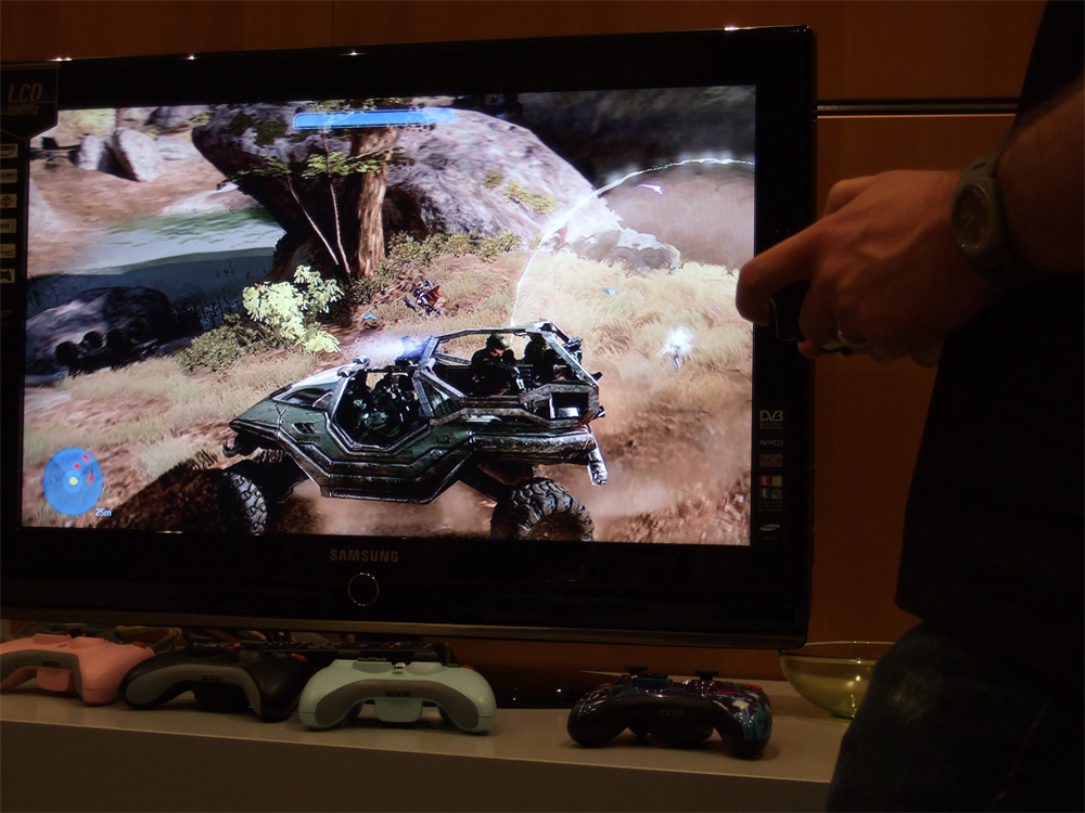 Fahrt mit dem Buggy in Halo 3